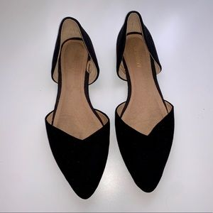 Black Pointed Flats, Pointy Shoes
